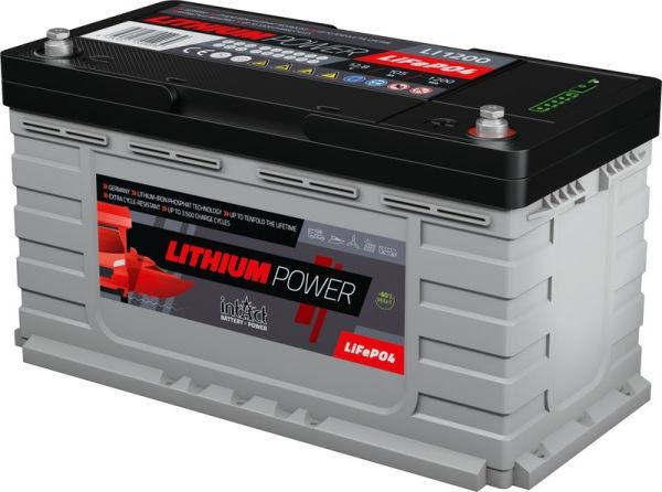 Intact Lithium Power 12.8 V 105 AH 1344 Wh